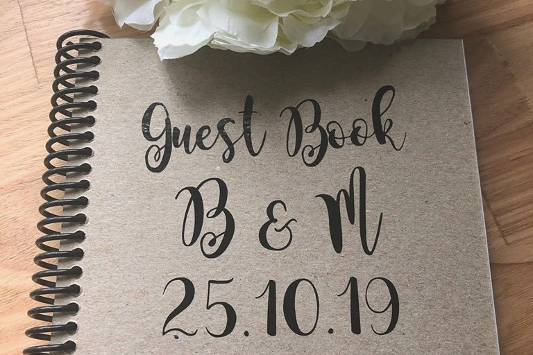 wedding guest book adelaide