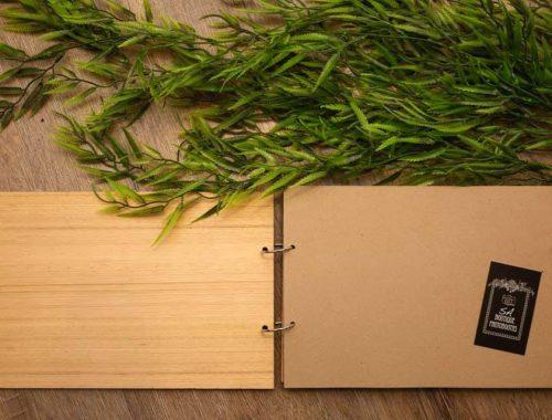 wedding guest book adelaide wooden