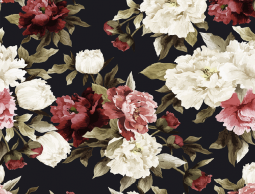 adelaide photobooth hire rose wall flower wall backdrop