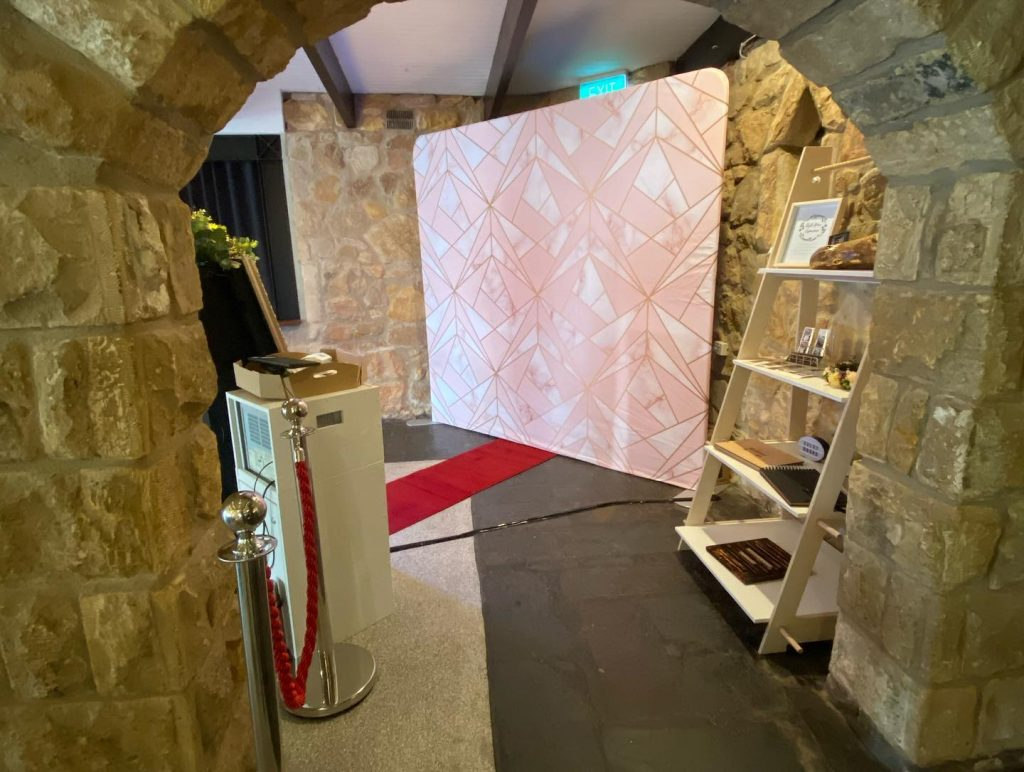 the manor basket range photobooth hire