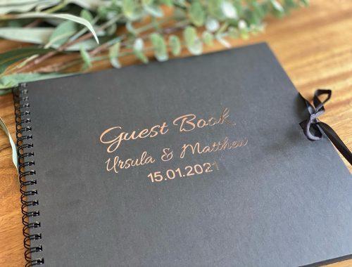 wedding guest book adelaide